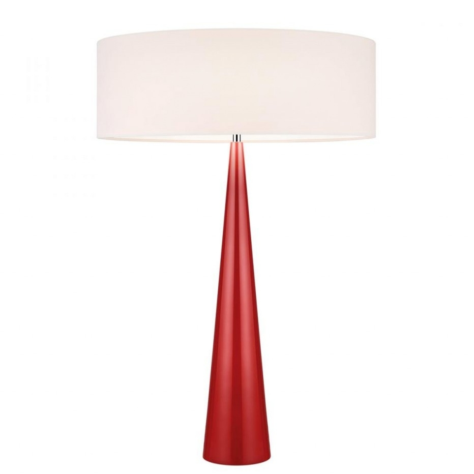 Inspiration about The Characteristics Of Red Table Lamps For Living Room | Aspire X Within Red Living Room Table Lamps (#4 of 15)