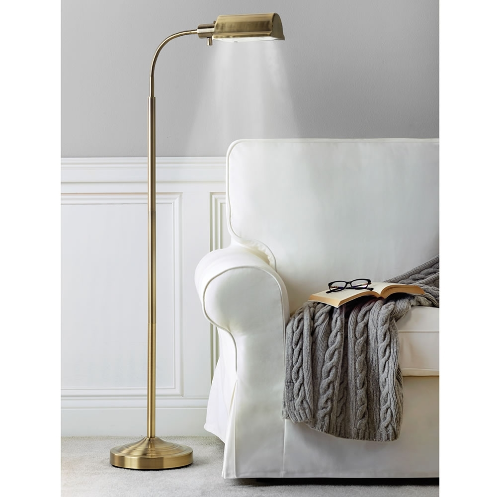 The Cordless Reading Lamp – Hammacher Schlemmer Throughout Wireless Living Room Table Lamps (#11 of 15)