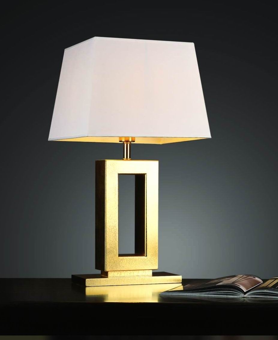Inspiration about Top 57 Superb Small Bedside Lamps Modern Table For Bedroom Gold Lamp In Modern Table Lamps For Living Room (#10 of 15)