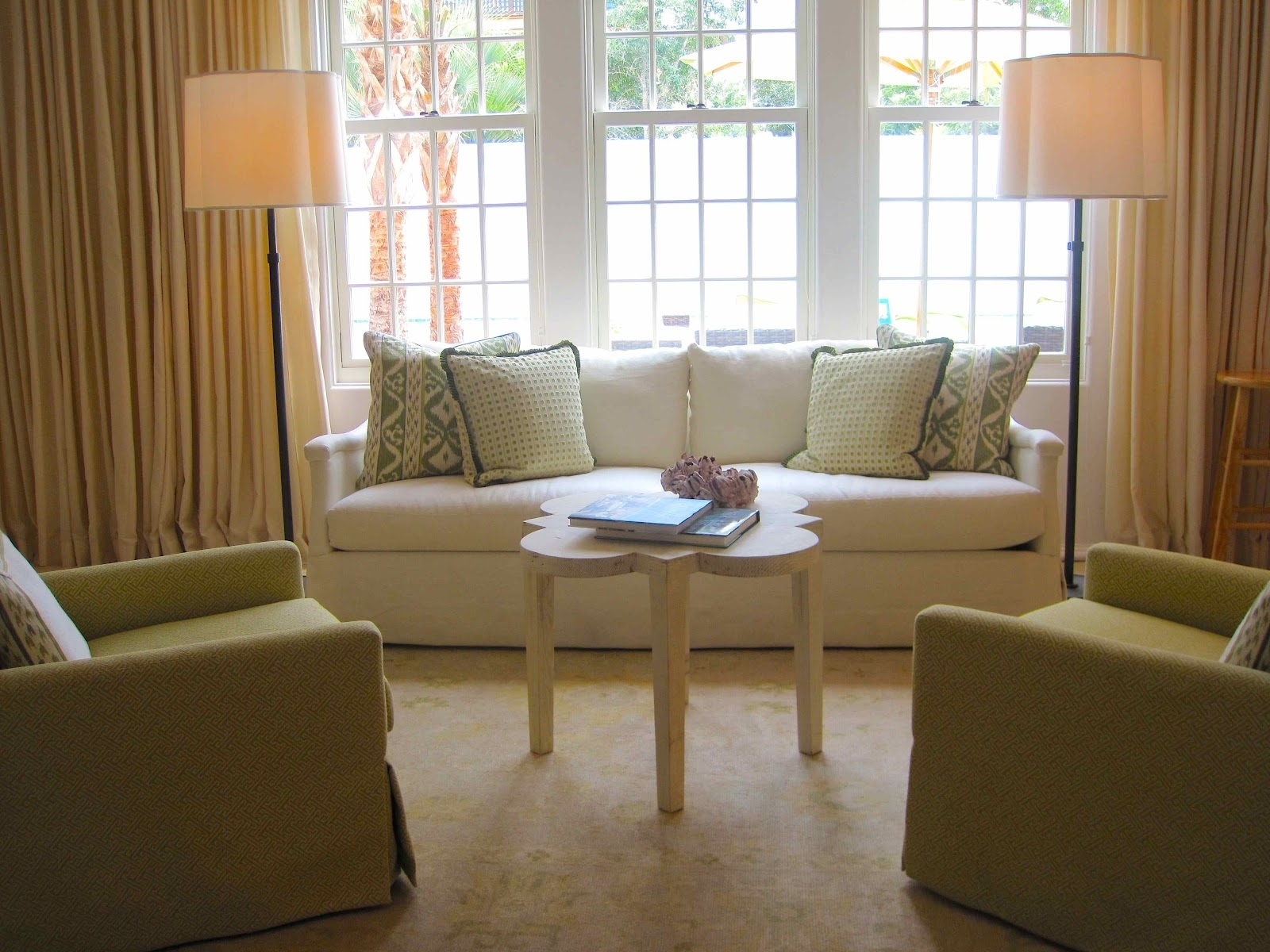 Inspiration about Tour Of Coastal Living's 2012 Ultimate Beach House, Coastal Table Pertaining To Coastal Living Room Table Lamps (#1 of 15)