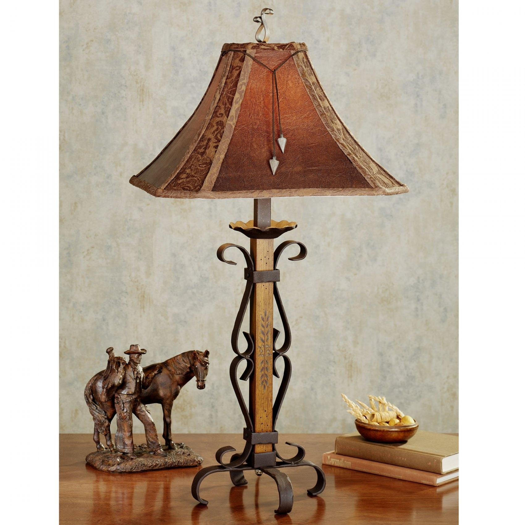 15 best ideas of western table lamps for living room for Western table lamps living room