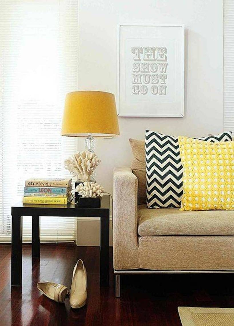 Yellow Table Lamps For Living Room — S3Cparis Lamps Design : Cozy In Living Room Table Lights (#15 of 15)