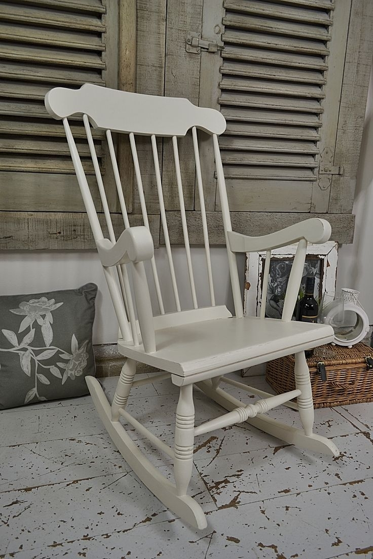 335 Best Sedia A Dondolo Images On Pinterest | Chairs, Rocking Chair In Upcycled Rocking Chairs (#1 of 15)