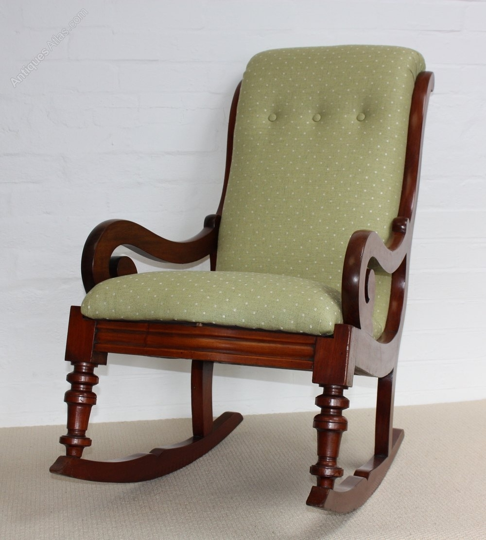 Popular Photo of Victorian Rocking Chairs