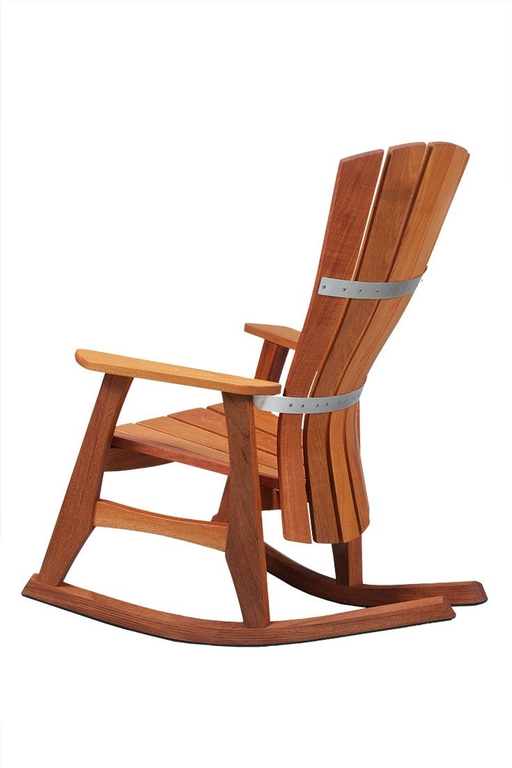 An Accomplishment In Both Comfort And Craftsmanship, Our Outdoor Throughout Rocking Chairs With Lumbar Support (View 14 of 15)