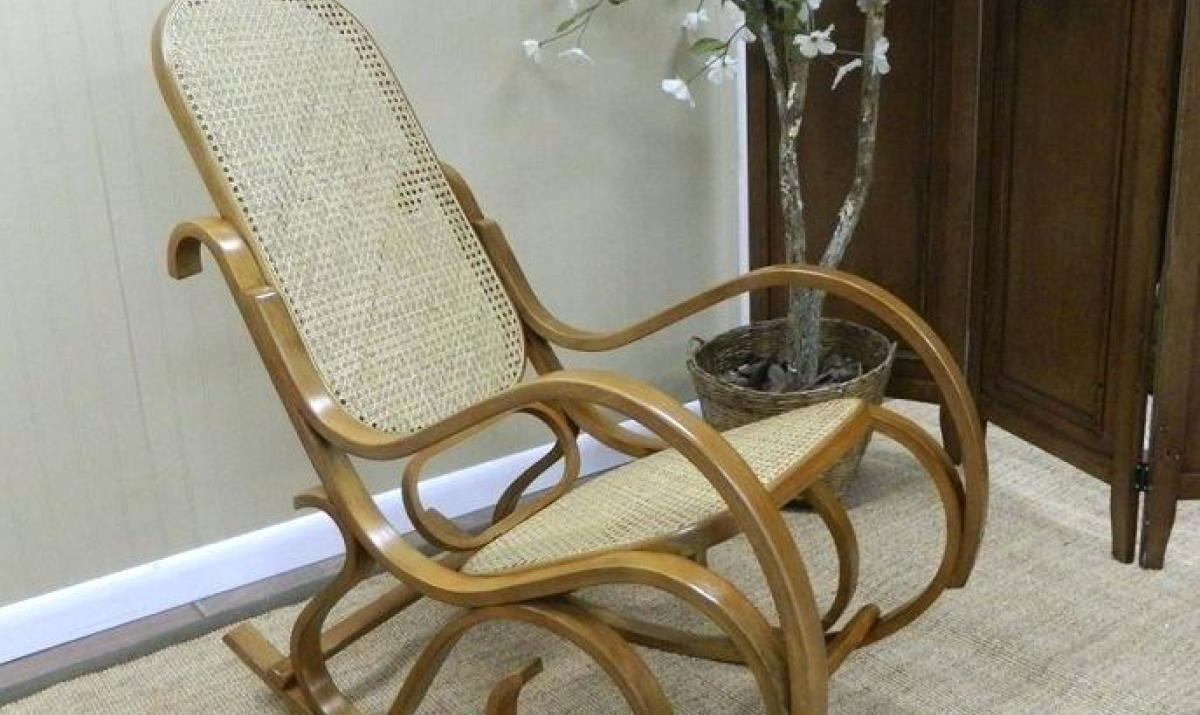 Antique Wood Wicker | Wooden Thing In Antique Wicker Rocking Chairs (#5 of 15)
