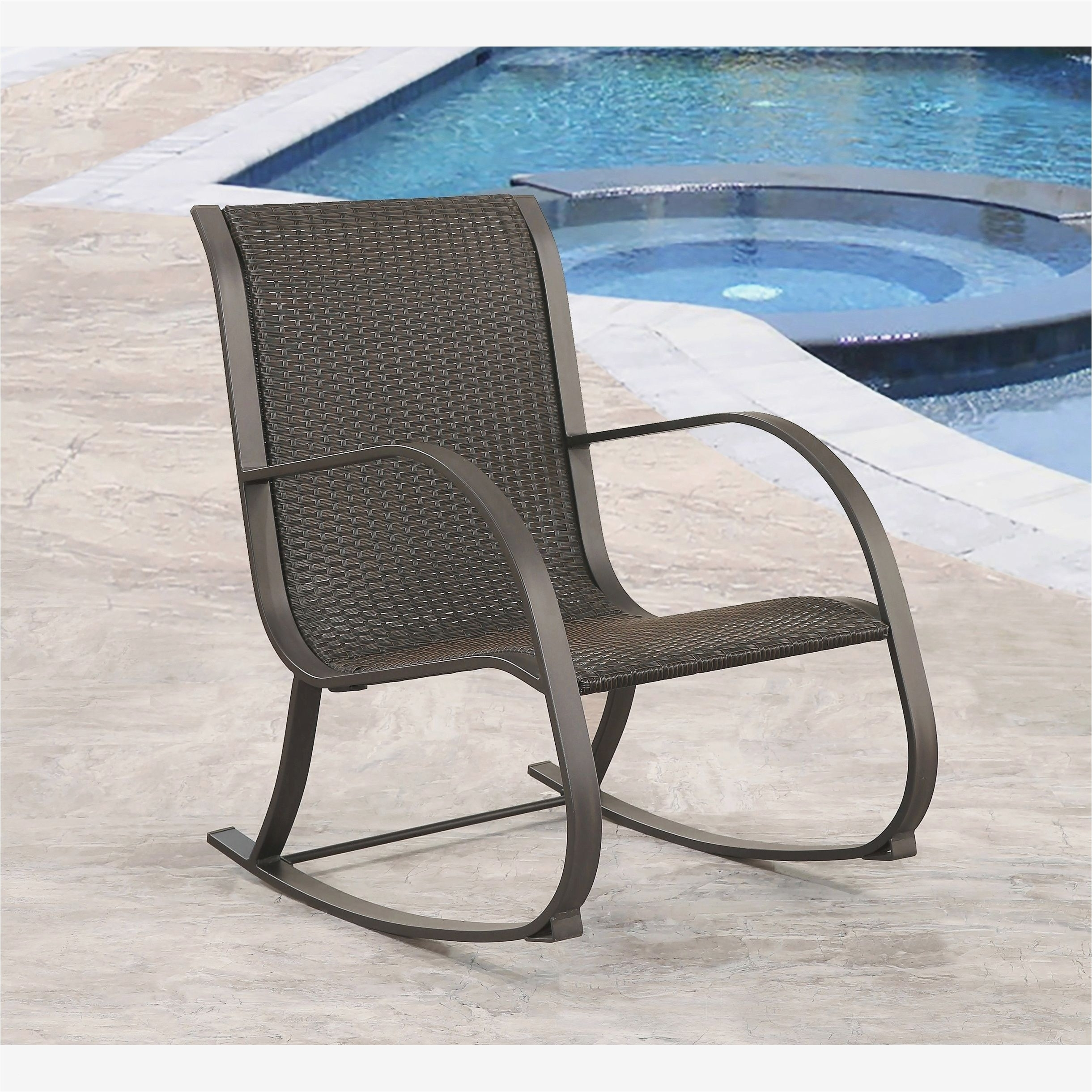 Awesome Rocking Chairs Patio Furniture Bellevuelittletheatre Ideas In Modern Patio Rocking Chairs (#1 of 15)
