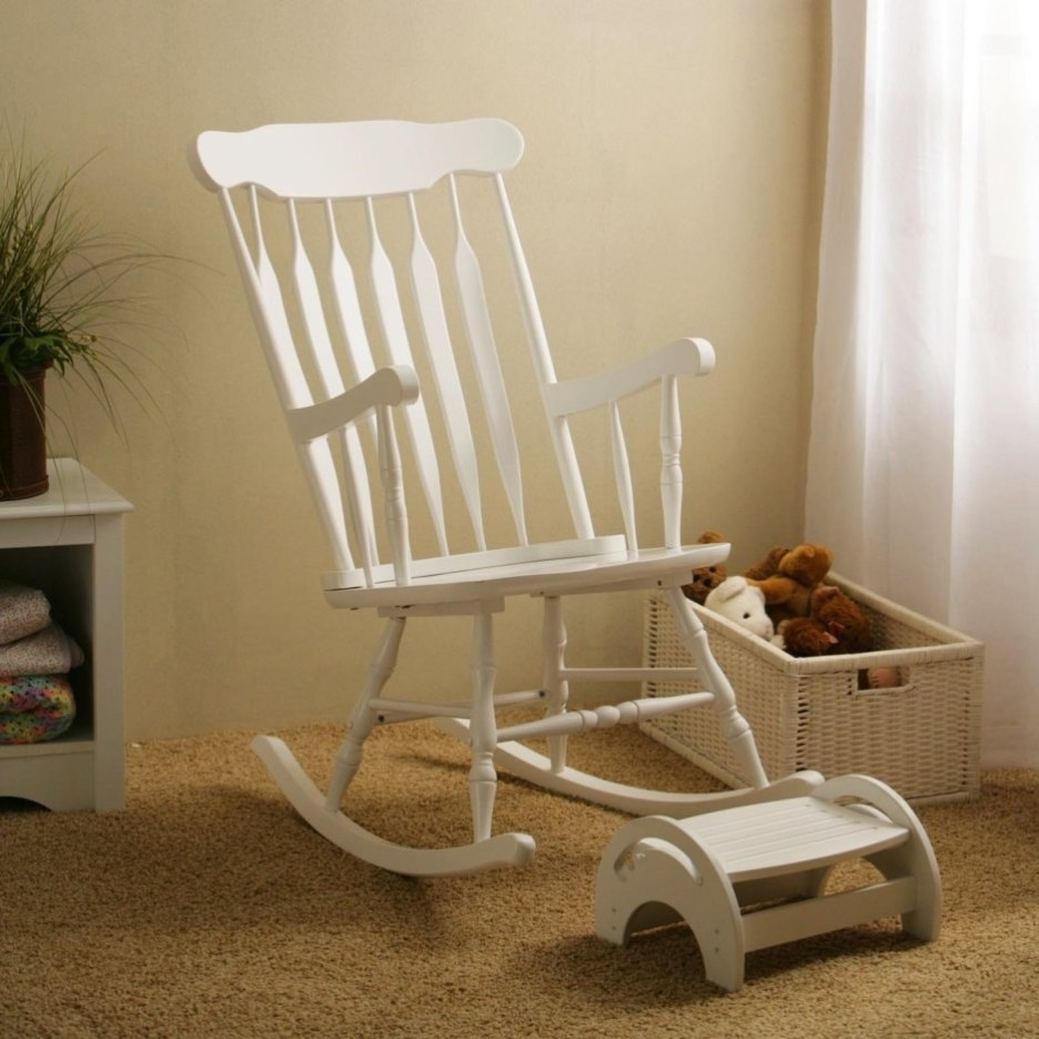 Baby Nursery Enchanting Image Of Furniture For Baby Nursery Room Within Rocking Chairs For Baby Room (View 6 of 15)
