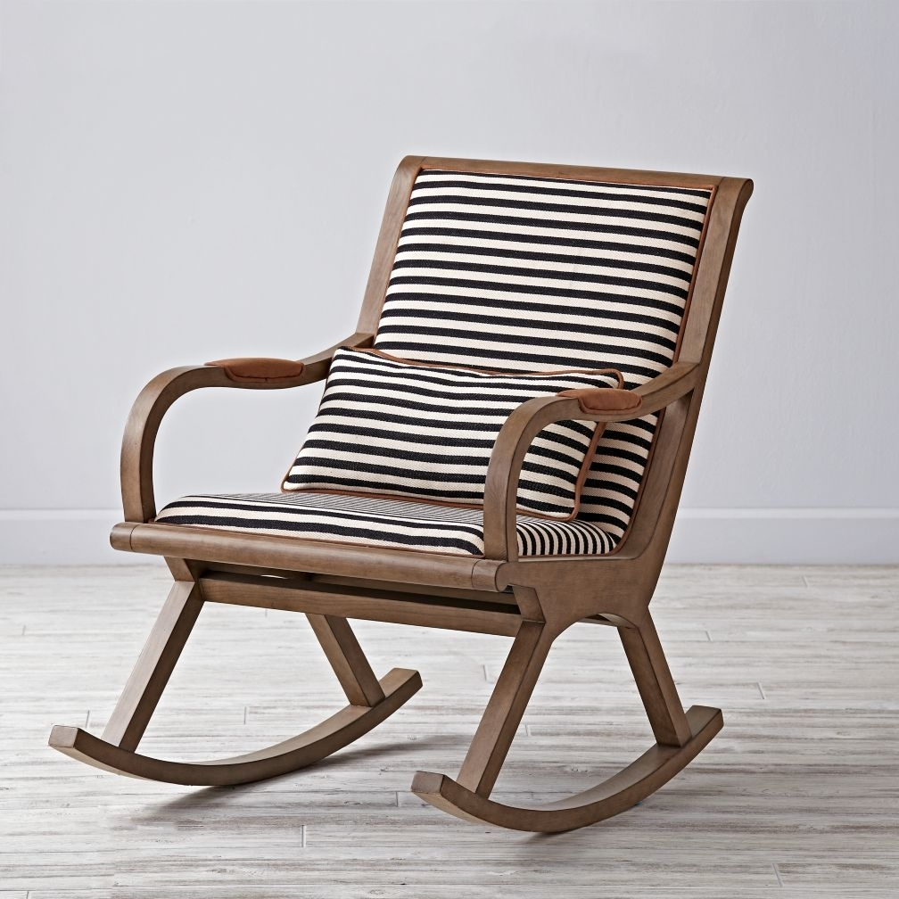 Bakersfield Rocking Chair | Mid Century Bungalow | Pinterest Inside Rocking Chairs (#1 of 15)