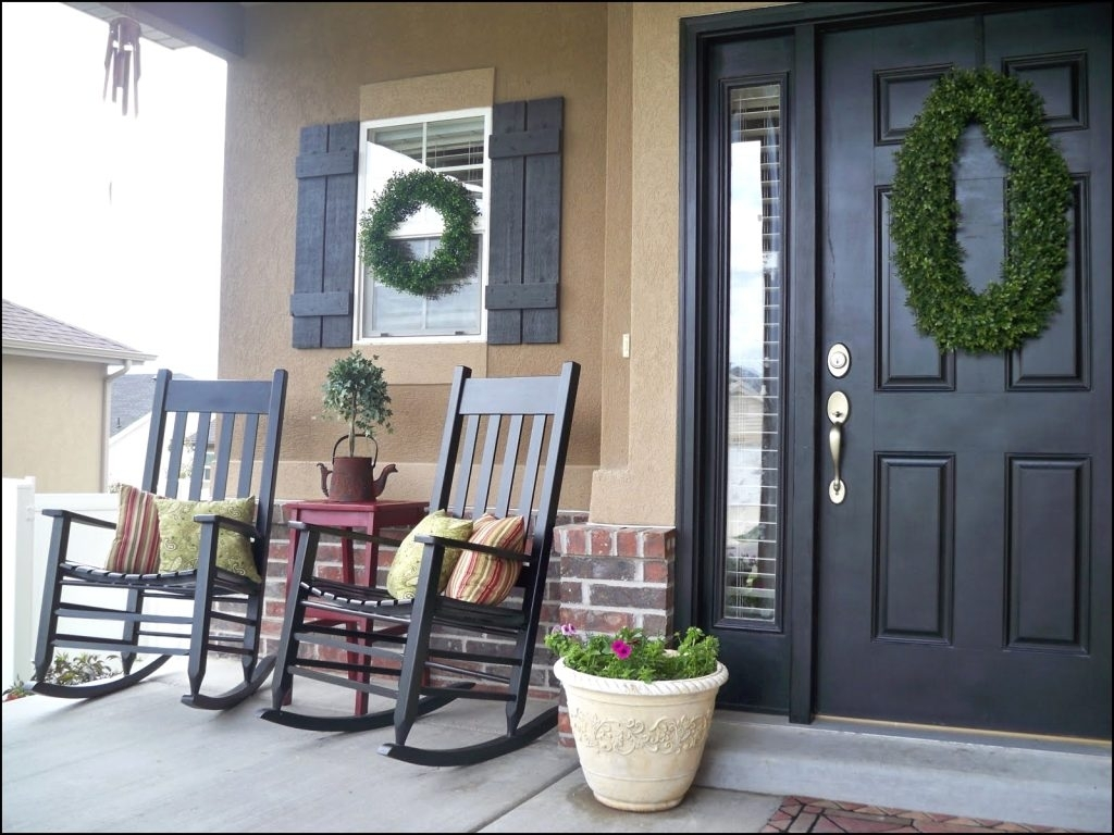 Beautiful Front Porch Chair Ideas – Niceporches (#1 of 15)