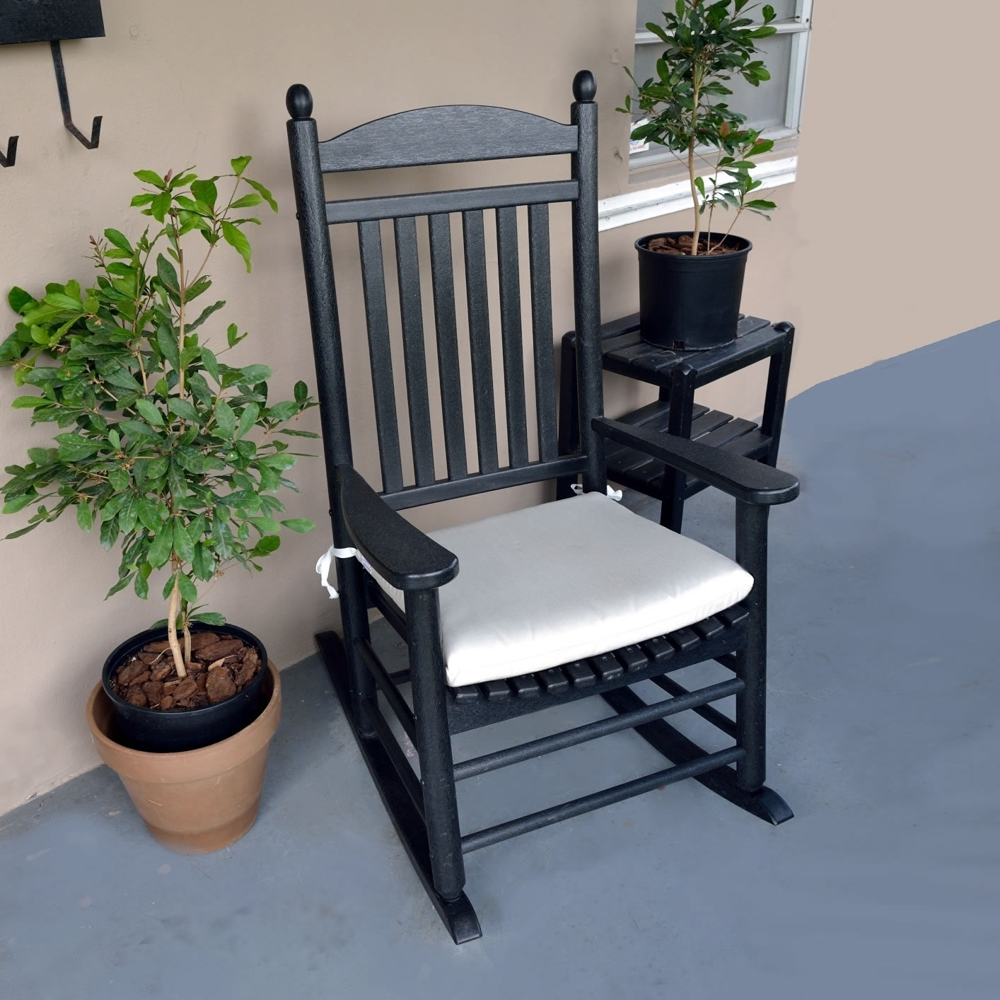 Popular Photo of Outdoor Rocking Chairs With Cushions