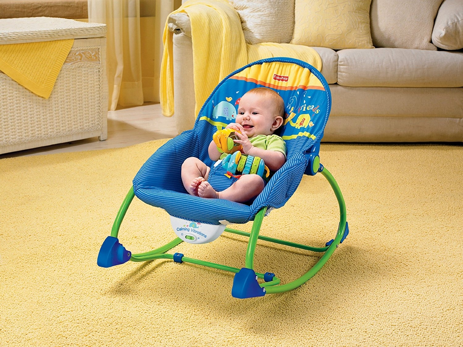 Popular Photo of Rocking Chairs For Babies