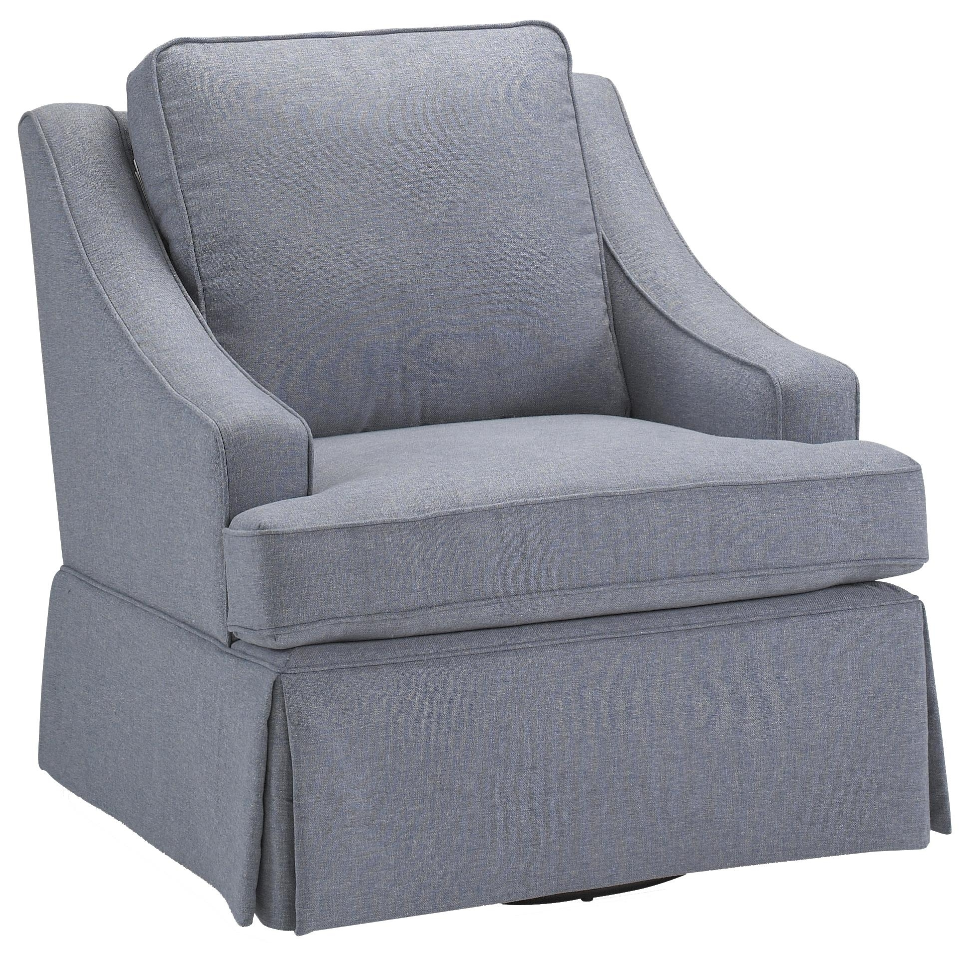 Best Home Furnishings Swivel Glide Chairs Contemporary Ayla Swivel Regarding Swivel Rocking Chairs (#3 of 15)