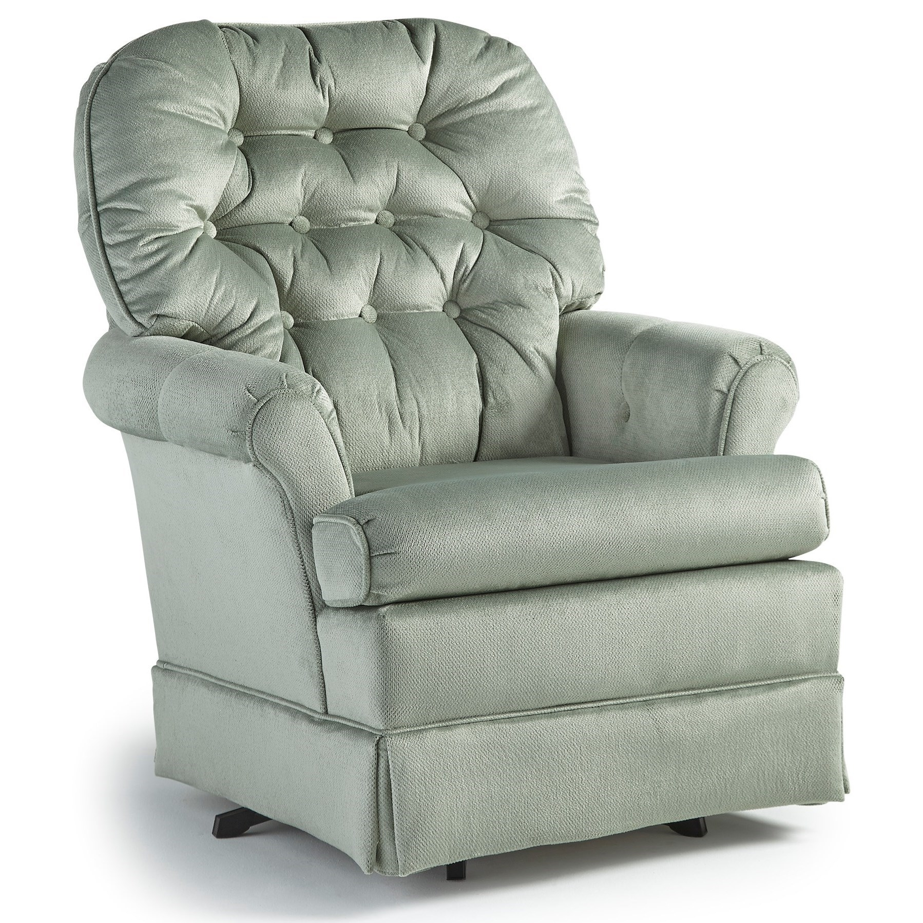 Best Home Furnishings Swivel Glide Chairs Marla Swivel Rocker Chair Regarding Swivel Rocking Chairs (#5 of 15)