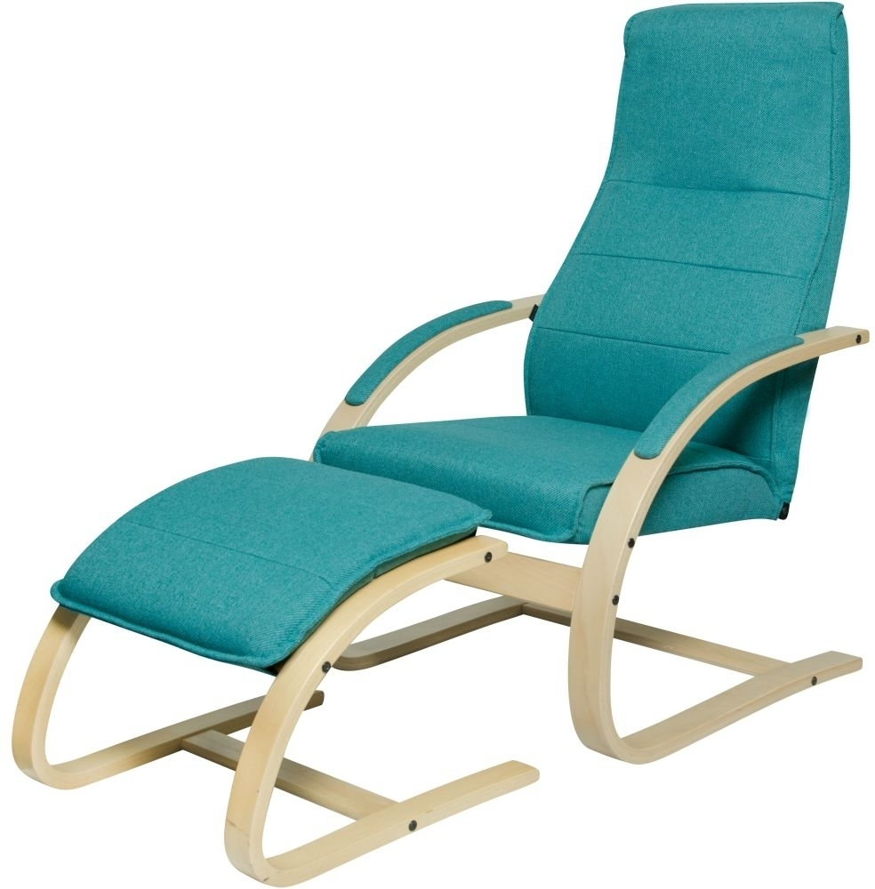 Buy Como Chair With Footstool Online – Furntastic Pertaining To Rocking Chairs With Footstool (#4 of 15)