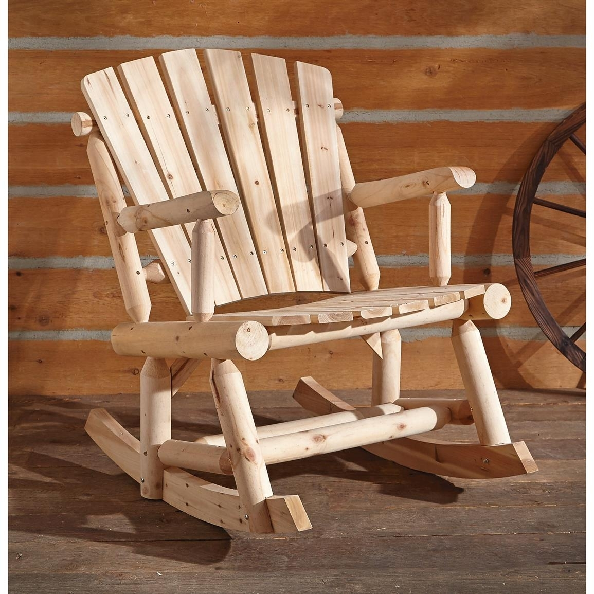 Castlecreek Oversized Adirondack Rocking Chair – 657797, Patio Regarding Oversized Patio Rocking Chairs (View 5 of 15)