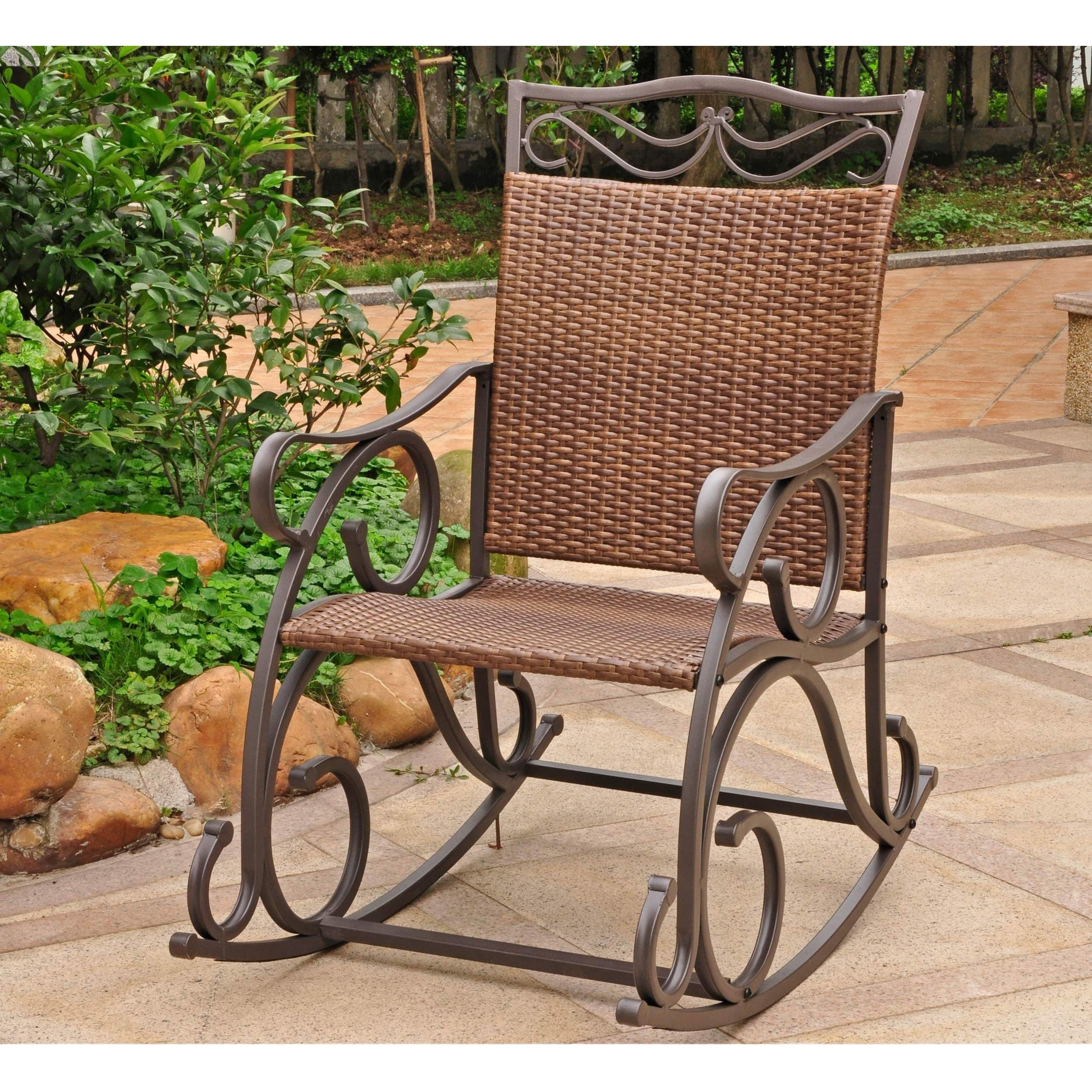 Chair | Bedroom Rocking Chair Heavy Duty Rocking Chair Outdoor Intended For Outdoor Vinyl Rocking Chairs (View 1 of 15)