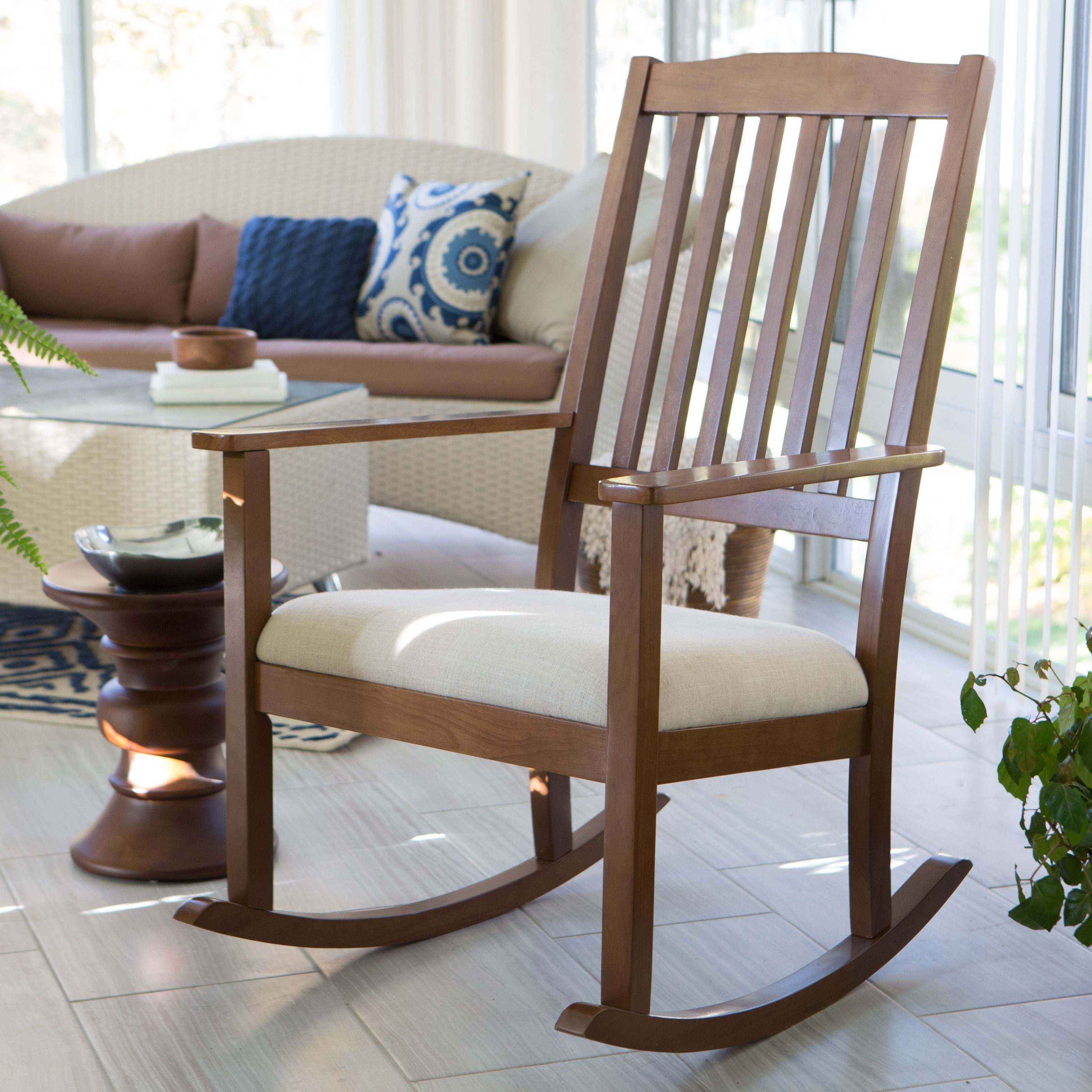 Chair Black Indoor Rocking Chair Black Patio Rocking Chairs Black Pertaining To Patio Wooden Rocking Chairs (#2 of 15)