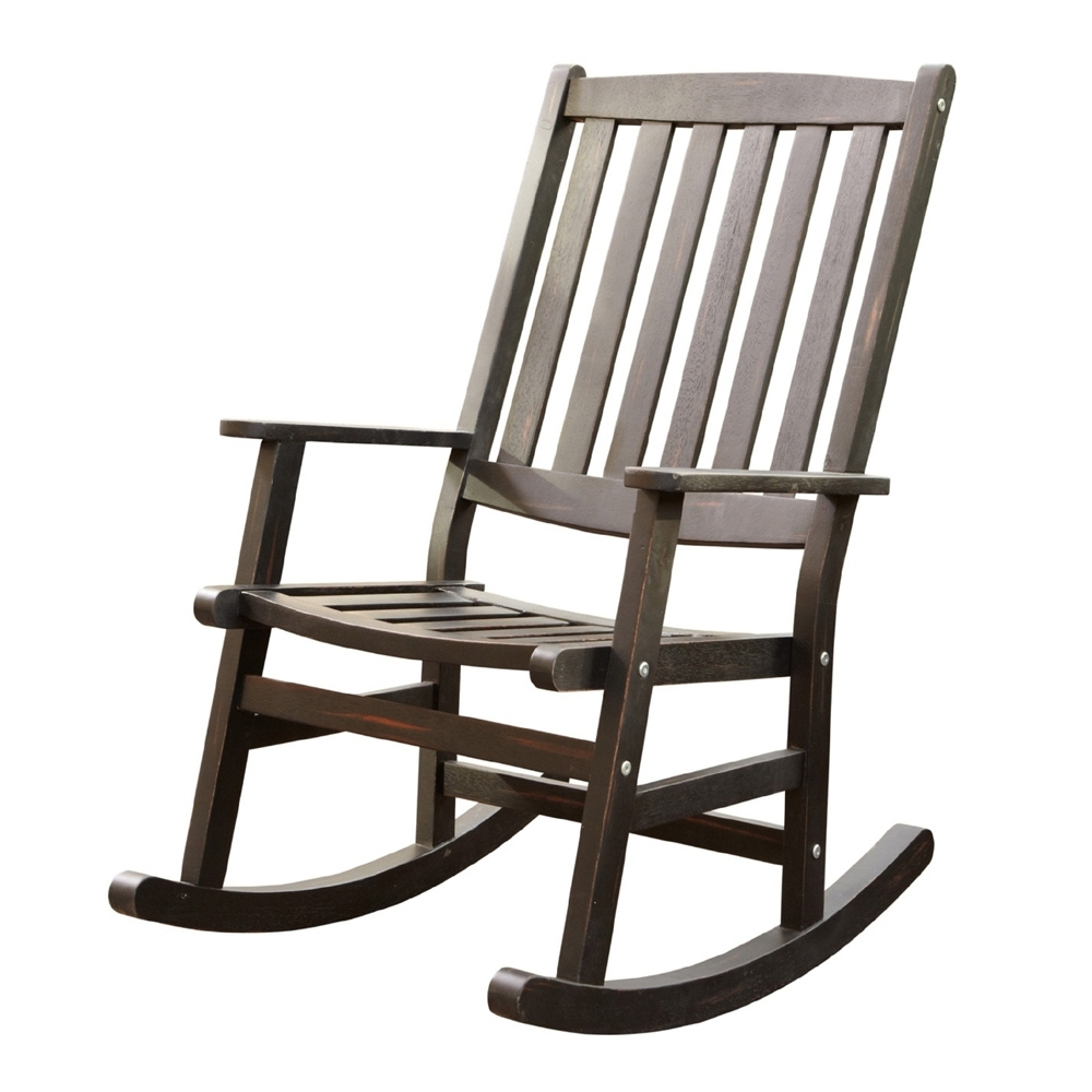 Chair | Black Rocking Chairs For Sale Unfinished Rocking Chair The Regarding Inexpensive Patio Rocking Chairs (#2 of 15)