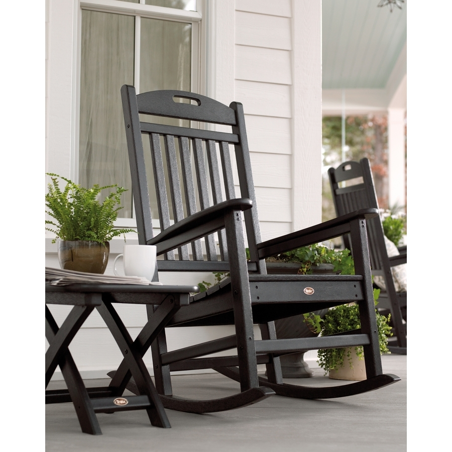 Chair | Cool Rocking Chairs Black Porch Rockers Oversized Rocking With Oversized Patio Rocking Chairs (#7 of 15)