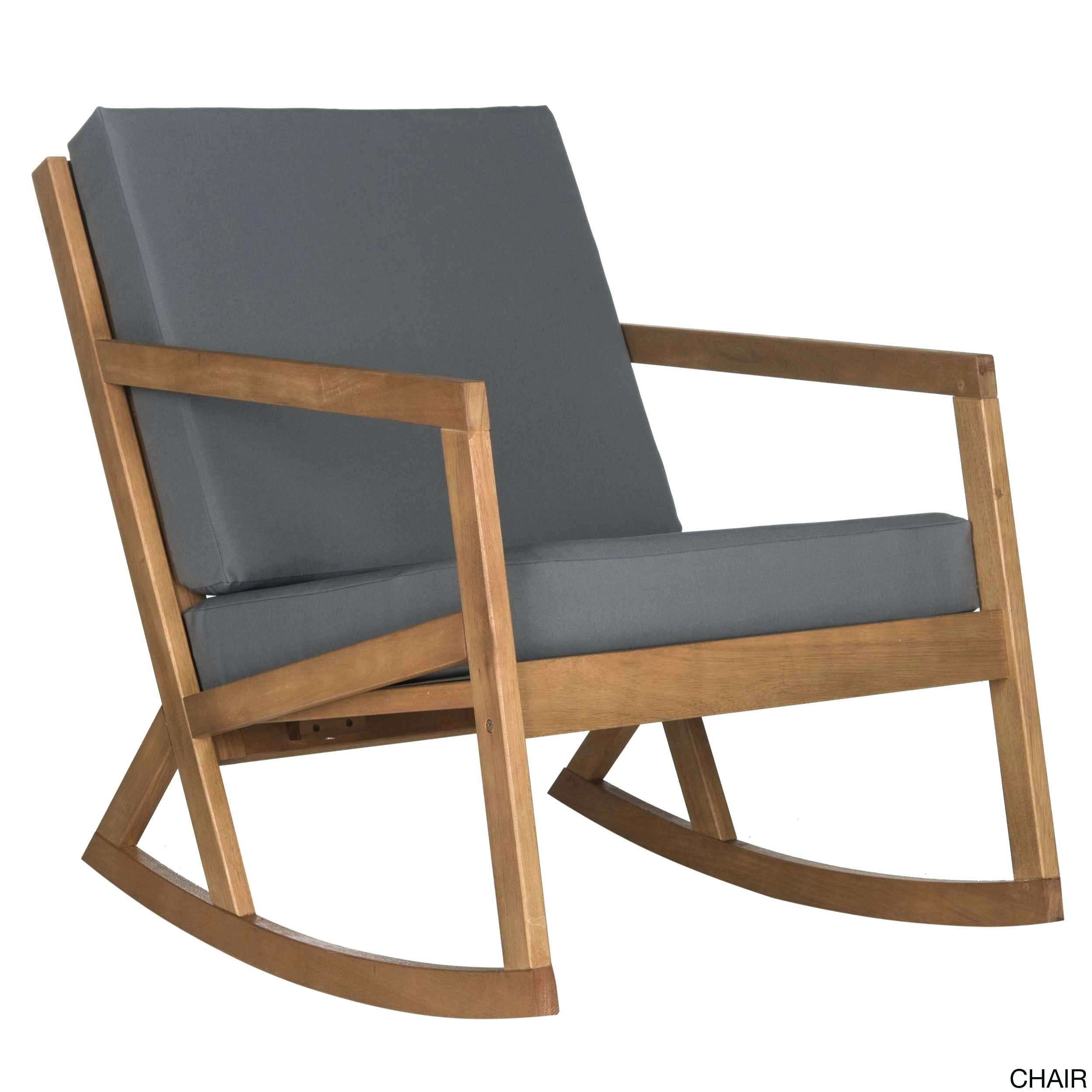 Chair : Patio Rocking Chairs Bradley Maple Jumbo Slat Wood Outdoor With Regard To Rocking Chairs For Patio (#5 of 15)