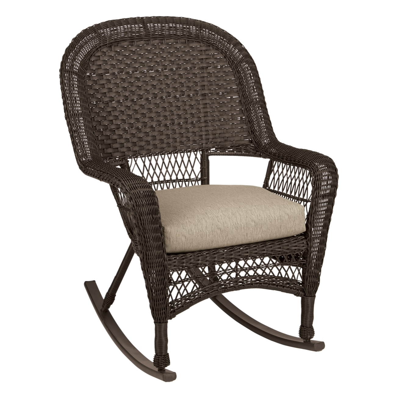 Chair | Rattan Chair Wicker Furniture Resin Wicker Rocking Chairs For Outdoor Vinyl Rocking Chairs (View 3 of 15)