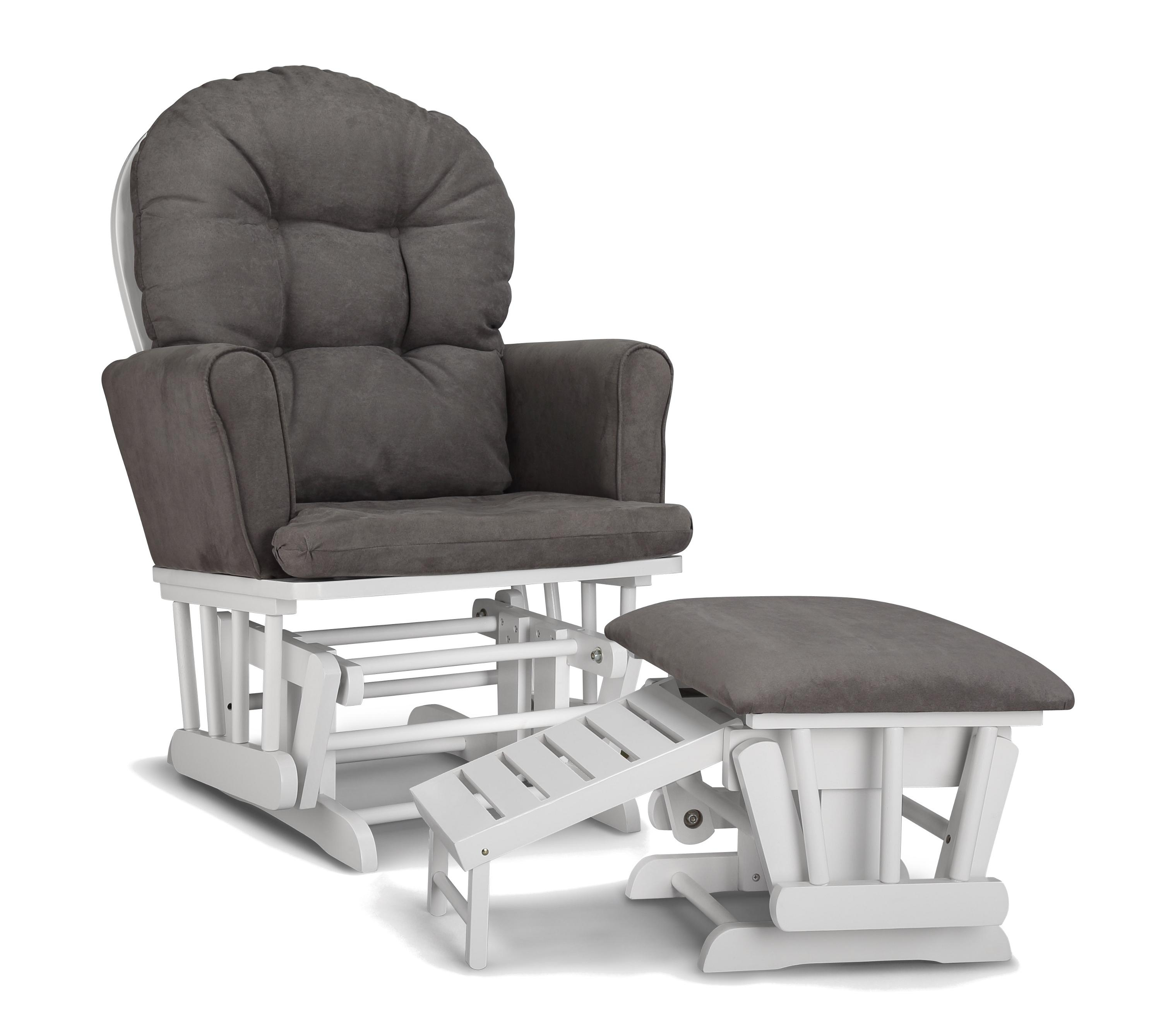 Chair | Rocker Glider Recliner With Ottoman Glider Ottoman Set Small Intended For Rocking Chairs With Ottoman (#4 of 15)