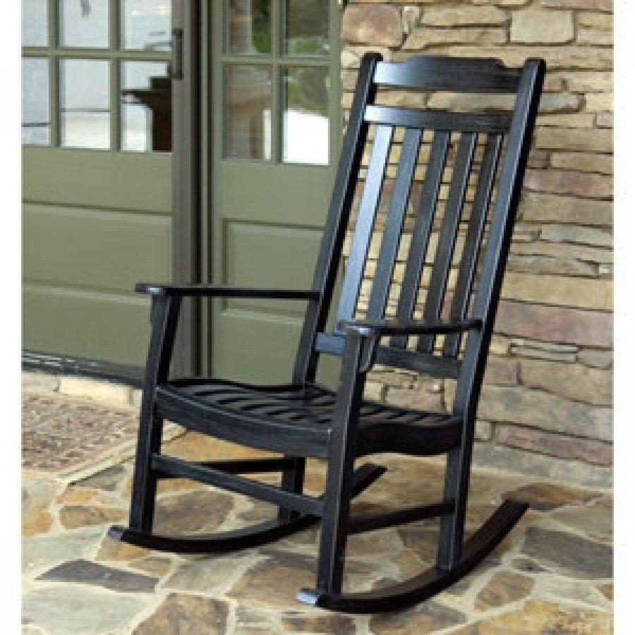 Chair | White Patio Rocker Cheap Black Outdoor Rocking Chairs Red Regarding Black Patio Rocking Chairs (#4 of 15)
