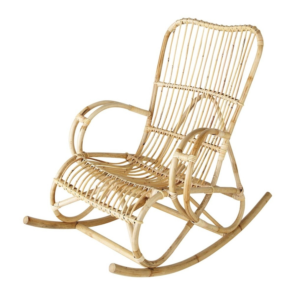 Chair | Wooden Rocking Chairs For Adults Furniture Glides Baby Throughout Wicker Rocking Chairs And Ottoman (#4 of 15)