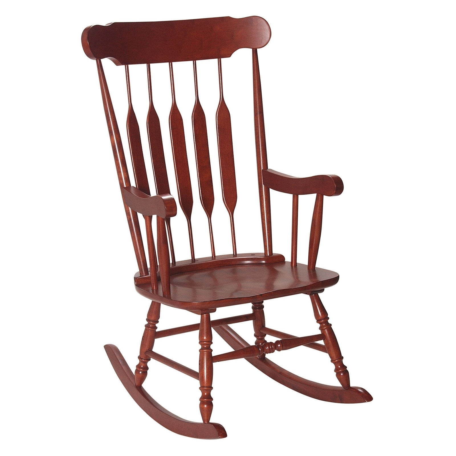 Child Colonial Rocking Chair | Hayneedle Pertaining To Rocking Chairs For Adults (#7 of 15)