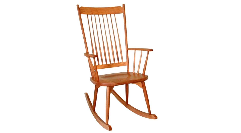 Circle Furniture – Highback Rocker | Rocking Chairs Boston | Circle With High Back Rocking Chairs (View 5 of 15)