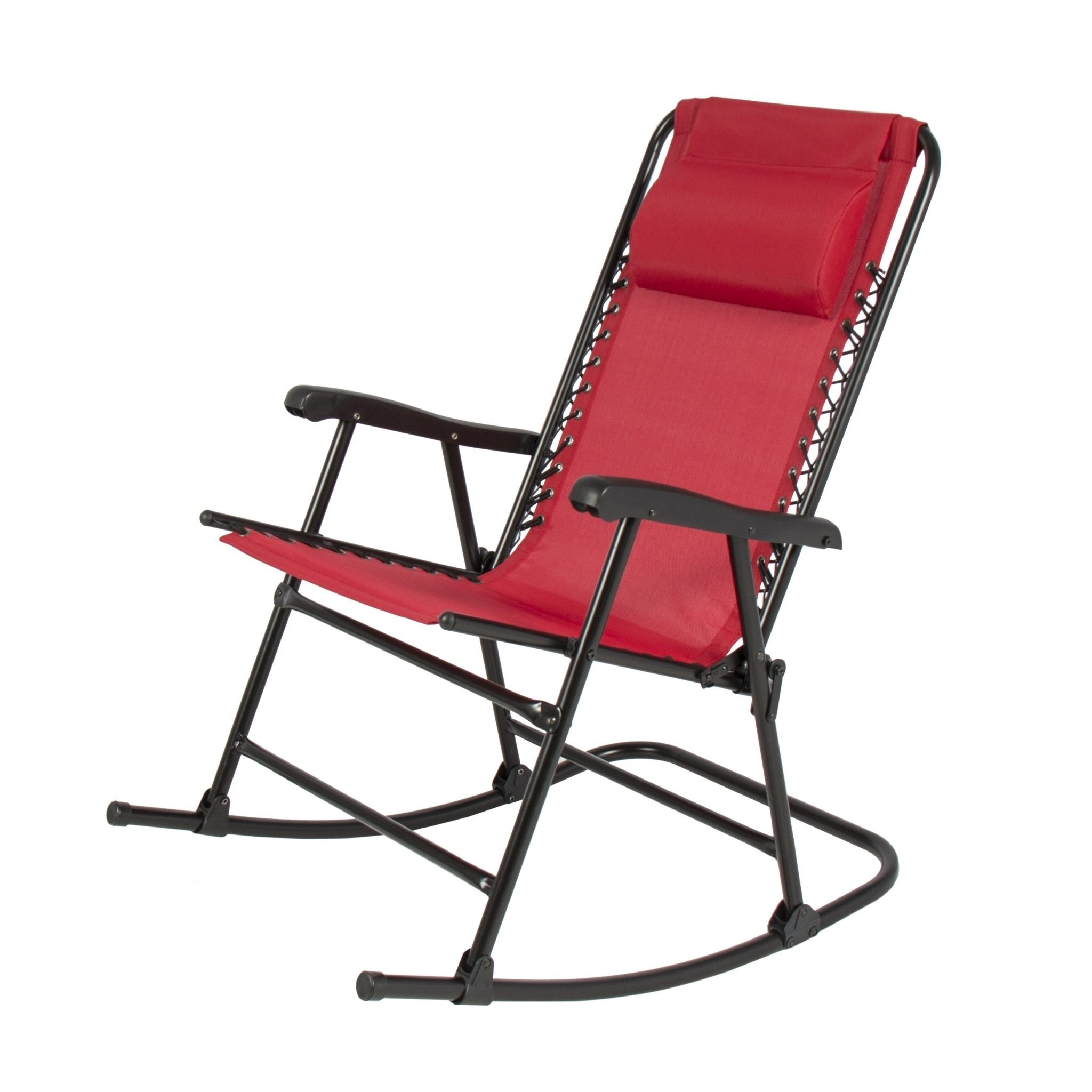 Collection In Folding Patio Table Folding Rocking Chair Foldable Intended For Red Patio Rocking Chairs (View 5 of 15)