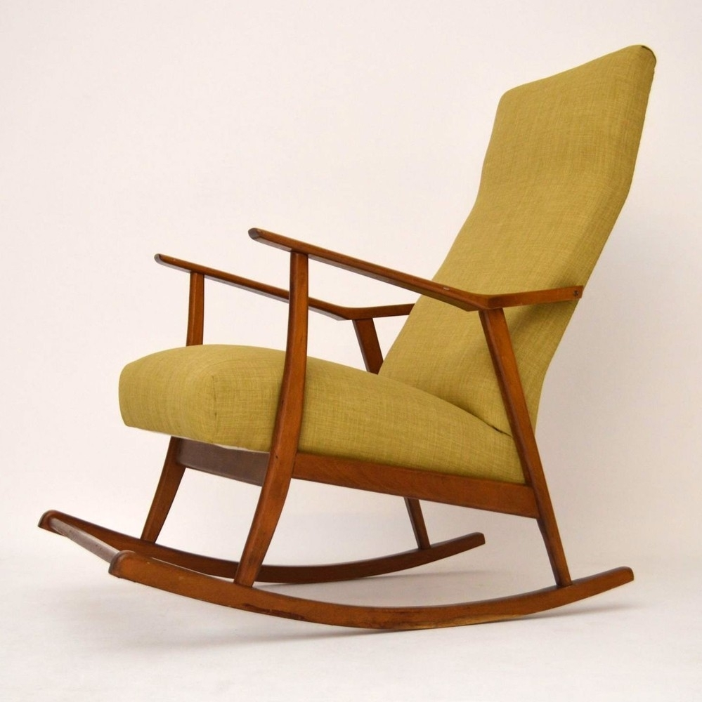Cool Design For Retro Rocking Chair Ideas Xpro Video Rocker With Retro Rocking Chairs (View 4 of 15)