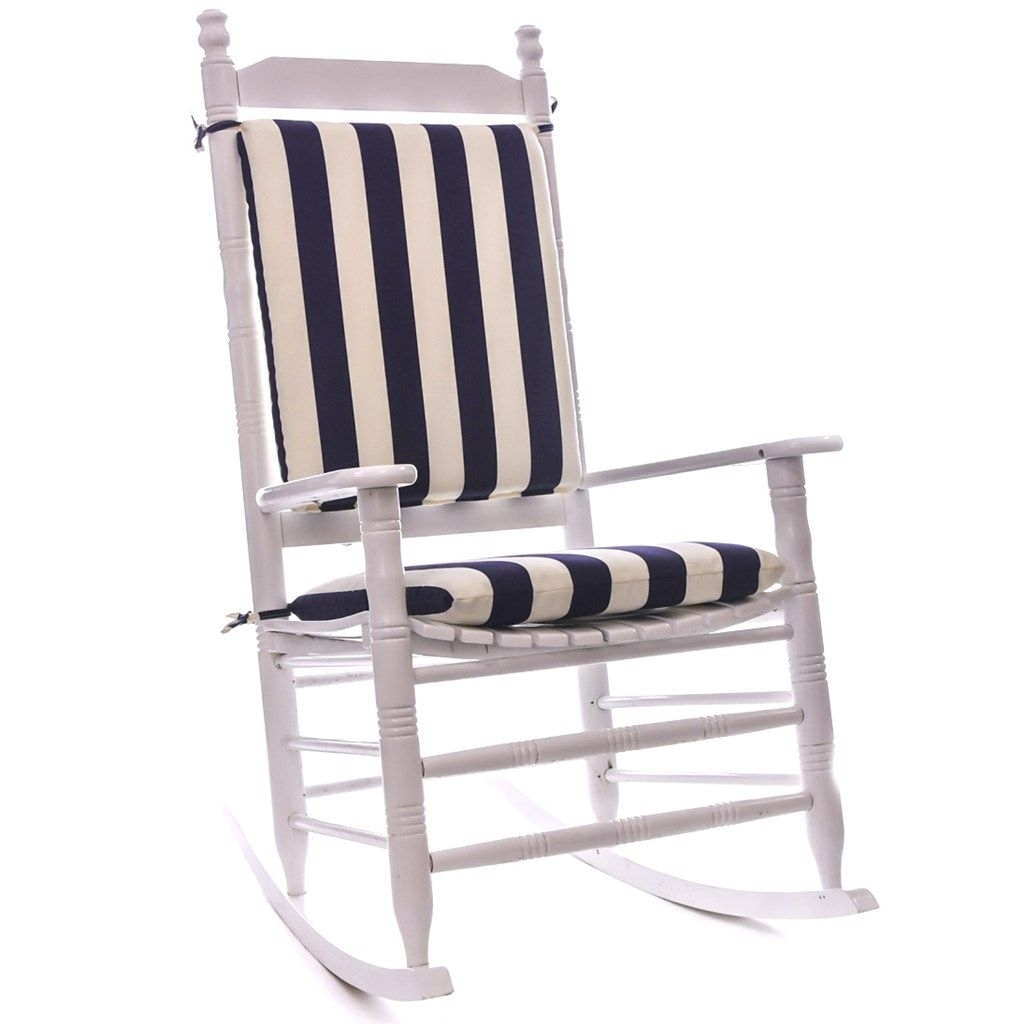 Cool Great Outdoor Rocking Chair Cushions 76 With Additional Intended For Outdoor Rocking Chairs With Cushions (#4 of 15)