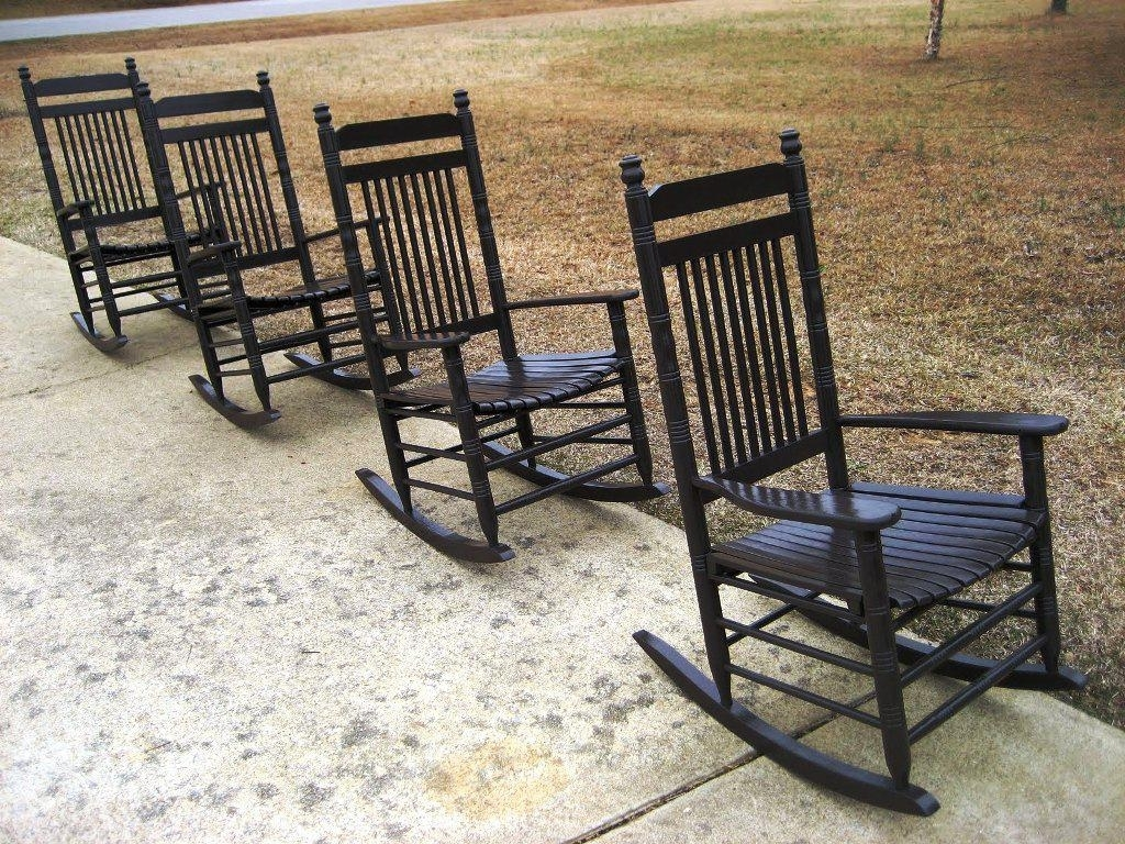 Cracker Barrel Rocking Chairs Porch — Jayne Atkinson Homesjayne Pertaining To Rocking Chairs At Cracker Barrel (#5 of 15)