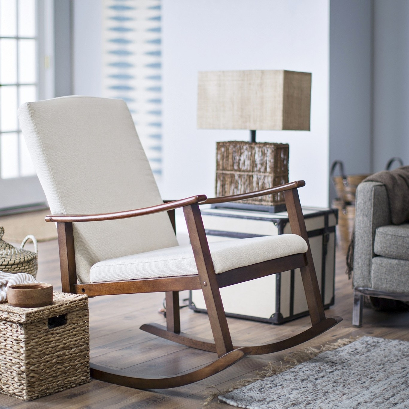 Cuddler Barrel Chair Amazon Chairs Folding Bernak Swivel Accent Throughout Amazon Rocking Chairs (View 12 of 15)