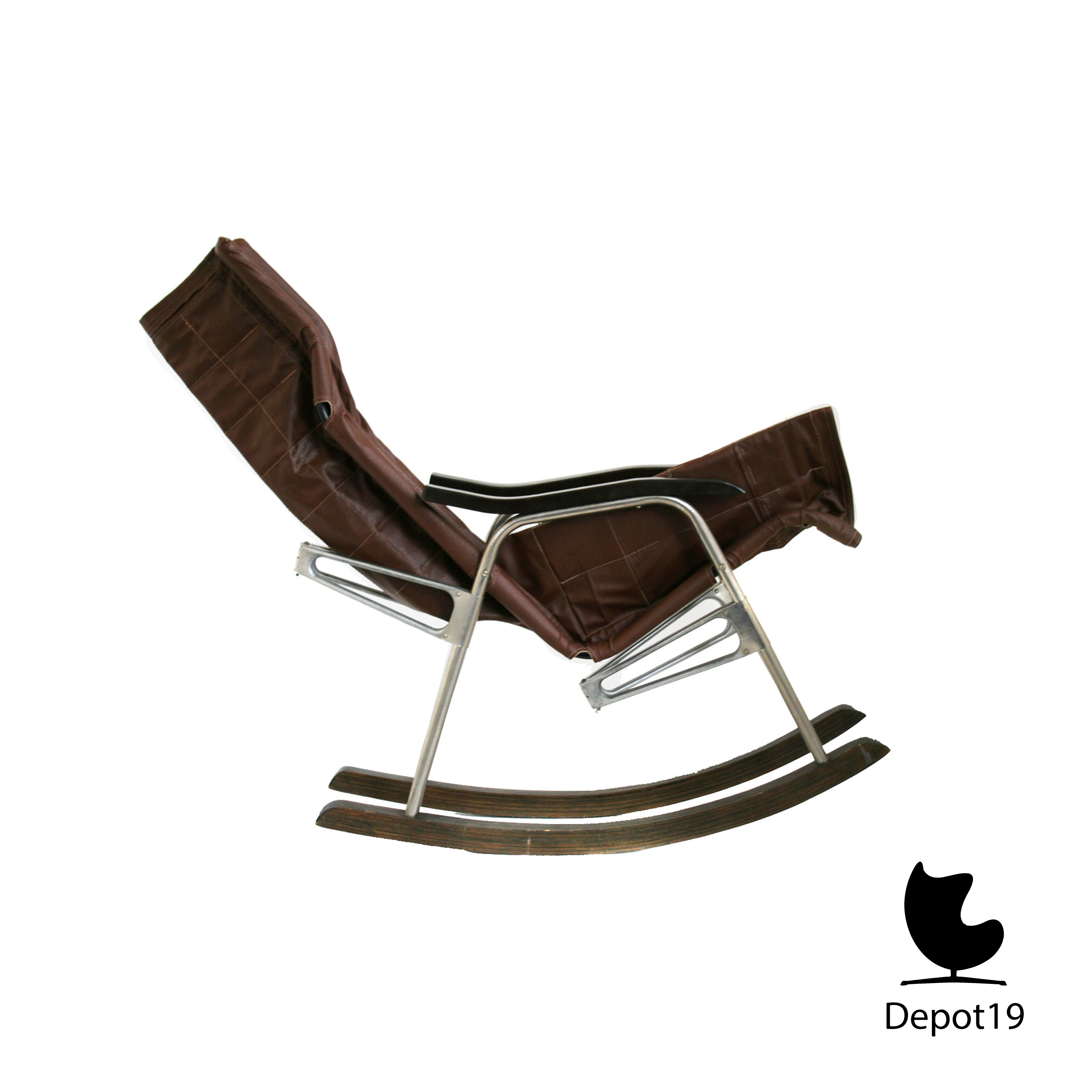 Inspiration about Danish Takeshi Nii Folding Rocking Chair Rocker | Depot 19 For Folding Rocking Chairs (#13 of 15)