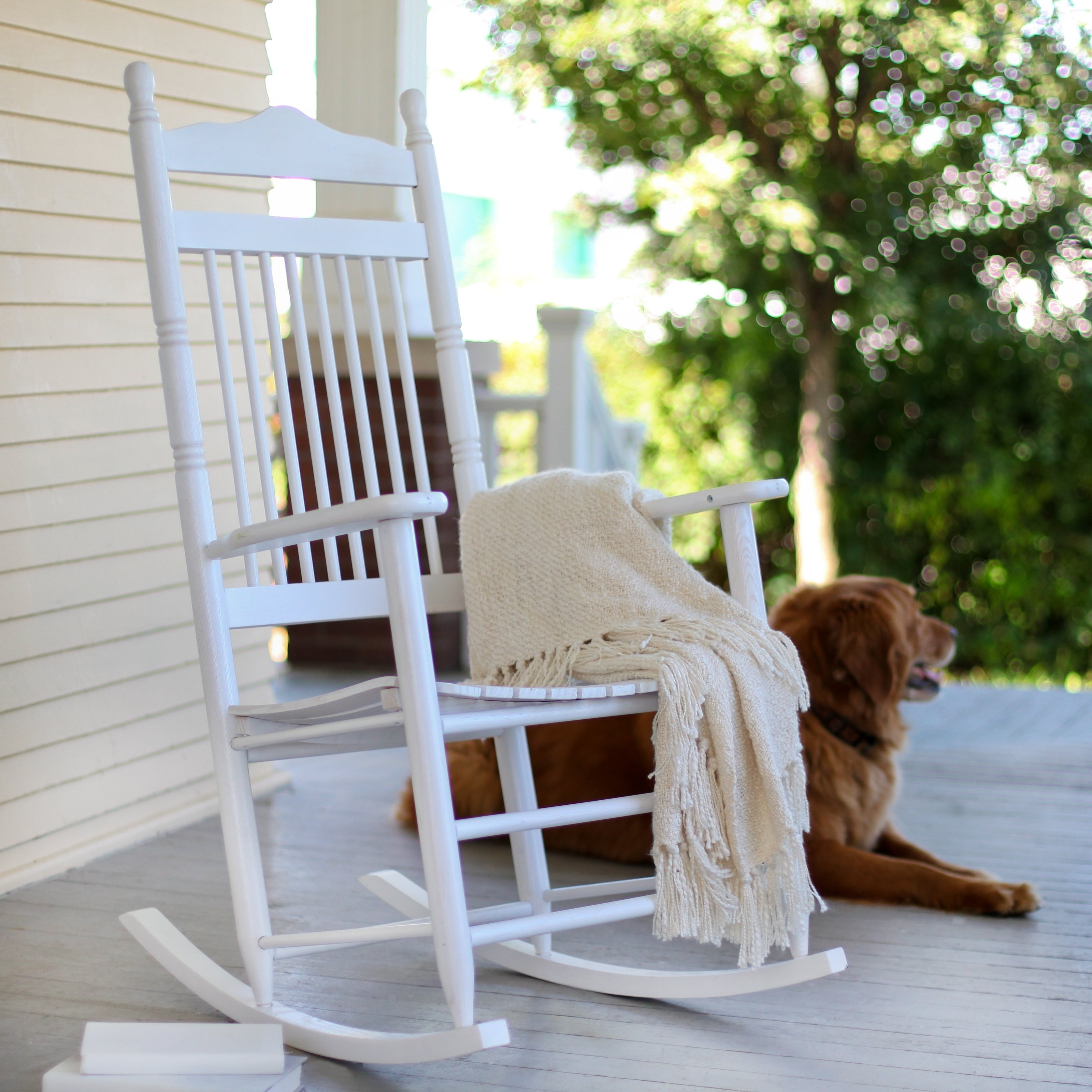 Decorating Black Wicker Rocker Outdoor White Rocking Chairs For Within Rocking Chairs For Outside (#6 of 15)