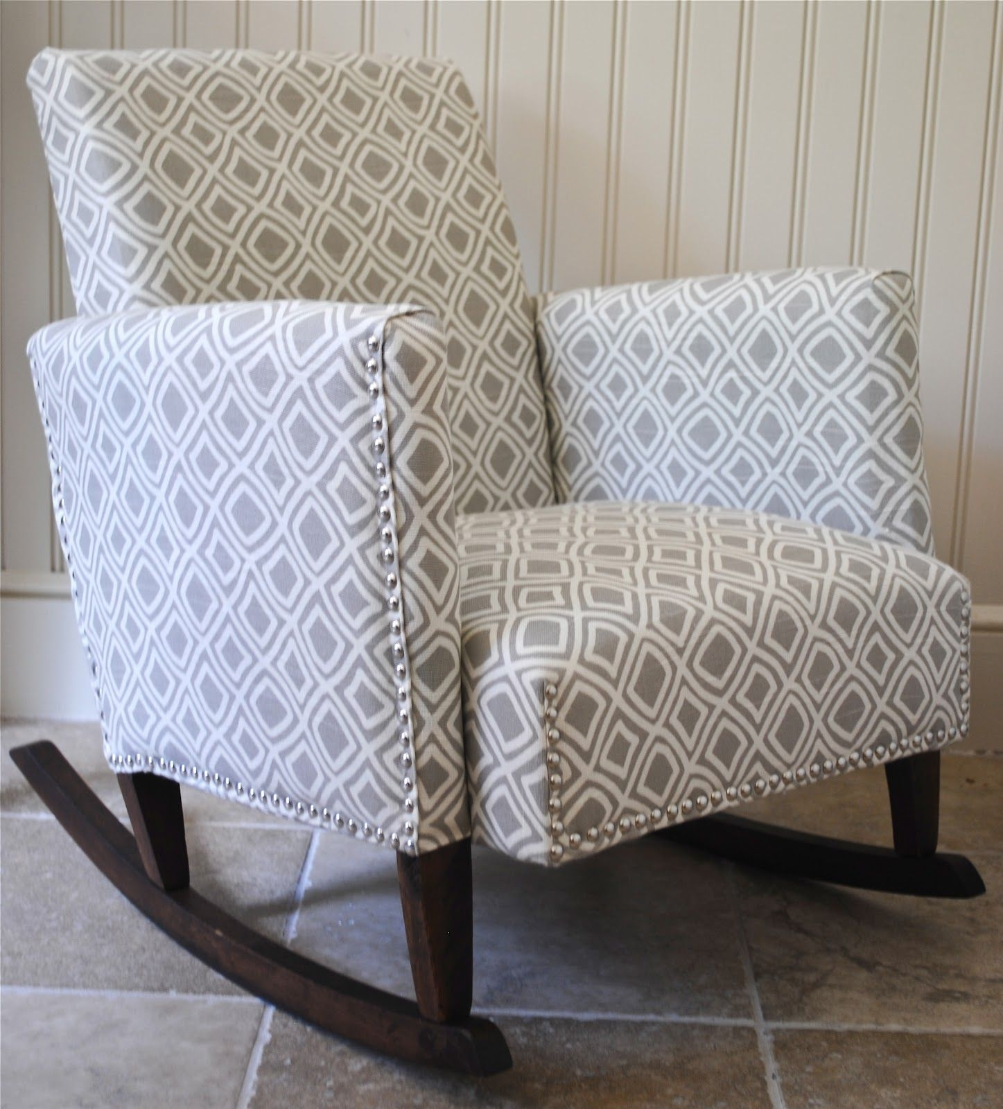 Inspiration about Diy}Ish Upholstered Child's Rocking Chair | Craft Ideas | Pinterest Throughout Upholstered Rocking Chairs (#6 of 15)