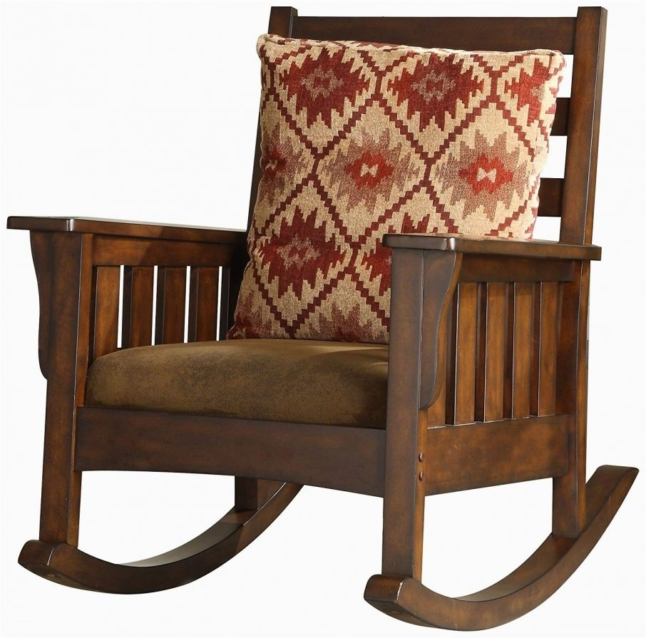Easy On The Eye Amazon Furniture Of America Oria Rocking Chair Dark Inside Amazon Rocking Chairs (View 15 of 15)