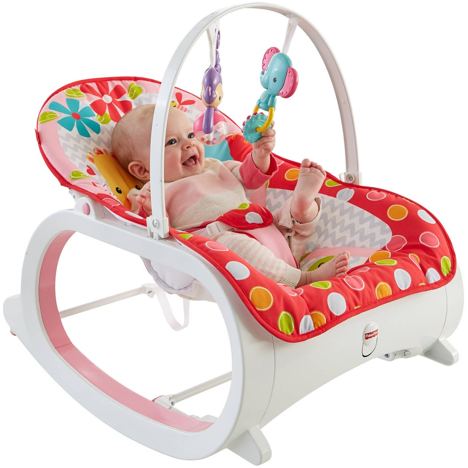 Fisher Price Infant To Toddler Rocker – Walmart Inside Rocking Chairs For Babies (#7 of 15)