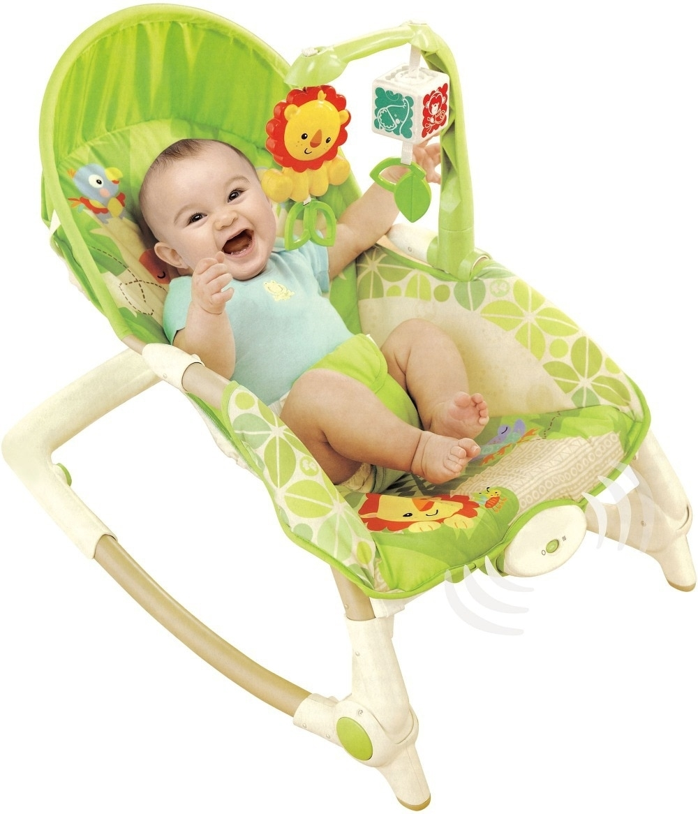 Free Shipping Newborn To Toddler Rocker Musical Baby Rocking Chair Intended For Rocking Chairs For Babies (#8 of 15)