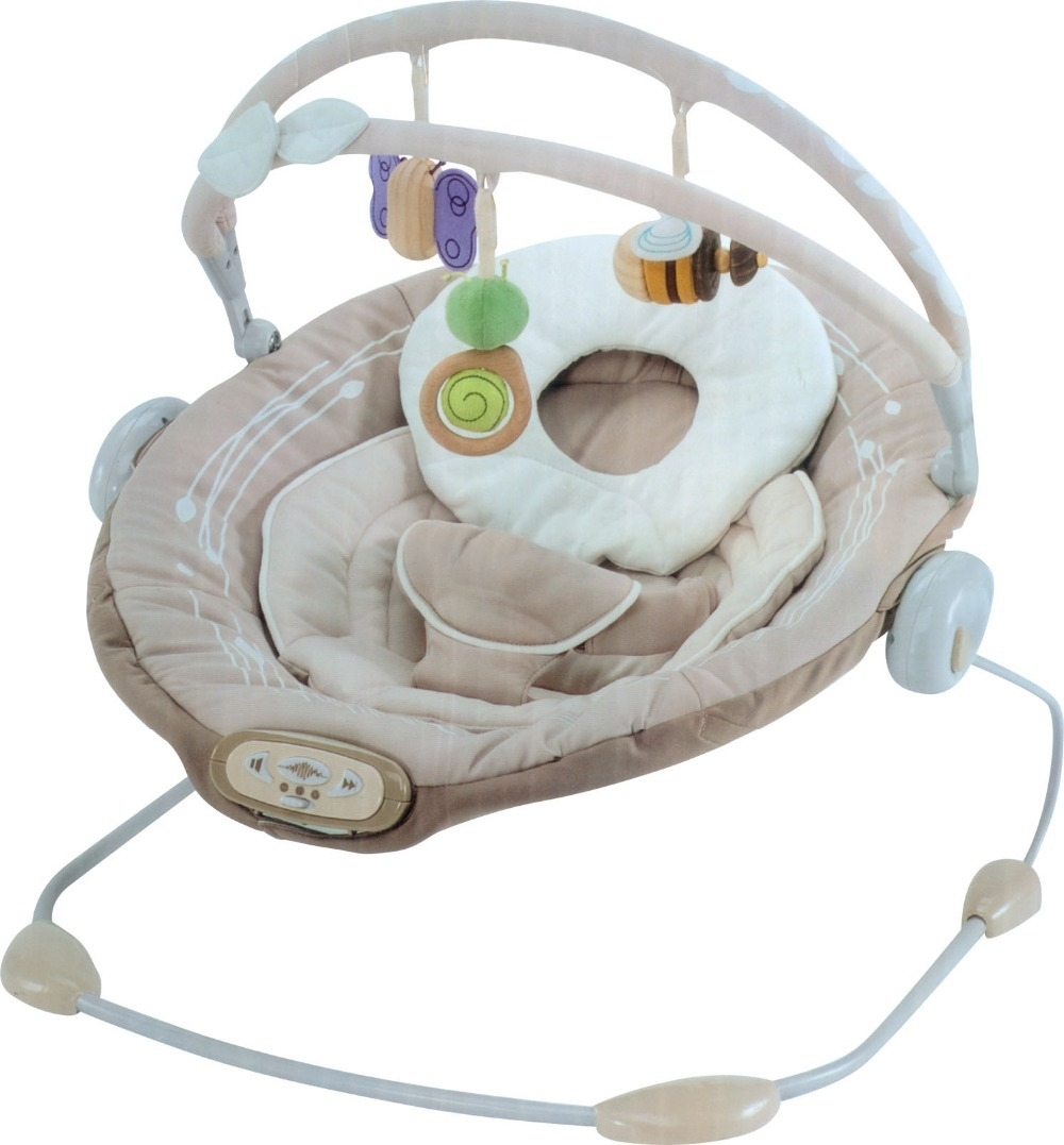 Free Shipping Sweet Comfort Musical Vibrating Baby Bouncer Chair Inside Rocking Chairs For Babies (#9 of 15)