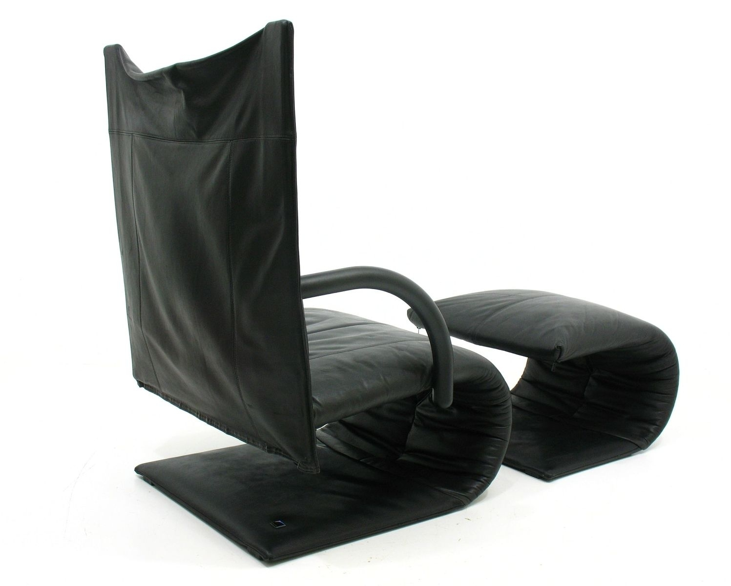 French Zen Chair & Footstoolclaude Brisson For Ligne Roset Inside Zen Rocking Chairs (#5 of 15)