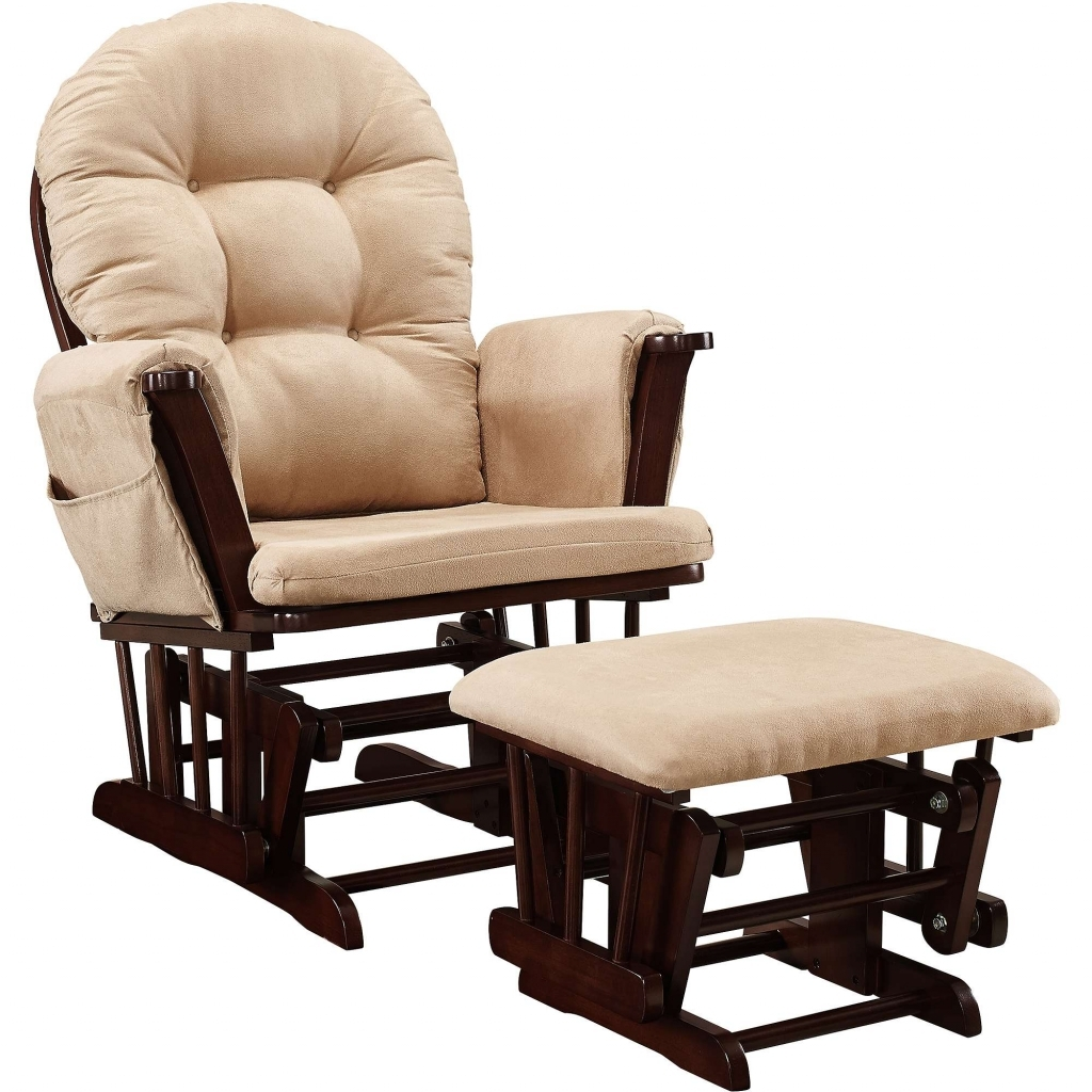 Furniture: Cushions For A Rocking Chair Best Of Glider Rocking Chair Intended For Walmart Rocking Chairs (#9 of 15)