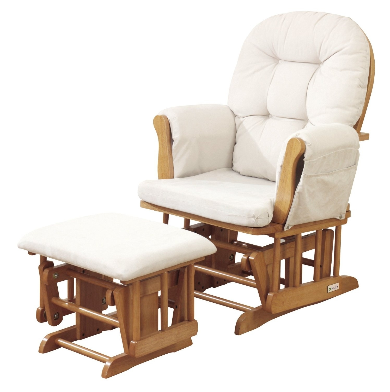 Furniture: Glider Rocking Chair On Sale Pertaining To Rocking Chairs With Footstool (#8 of 15)