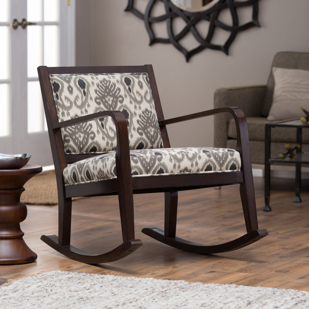 Furniture: Heavy Duty Rocking Chair Fresh Livingroom Wooden Indoor Throughout Rocking Chairs For Living Room (#5 of 15)