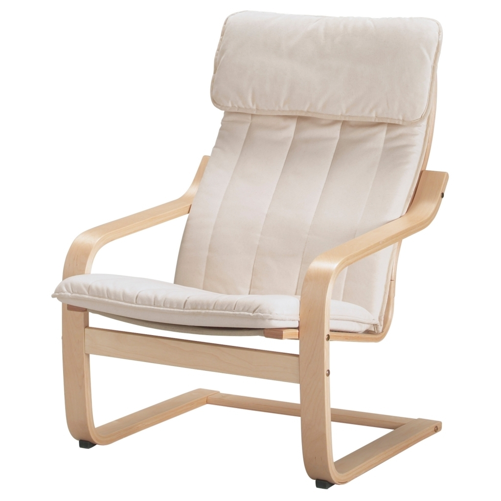 Furniture: Ikea Rocking Chair Elegant Poã Ng Armchair Ransta Natural For Ikea Rocking Chairs (#4 of 15)