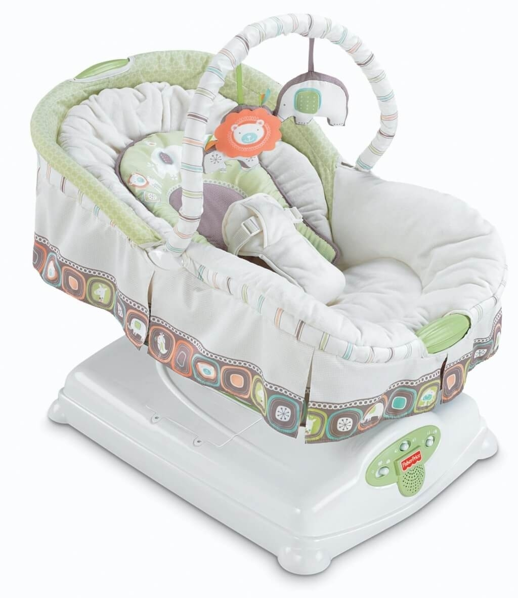Furniture: Luxury Baby Rocking Chair With Bouncer And White Baby Intended For Rocking Chairs For Babies (#11 of 15)