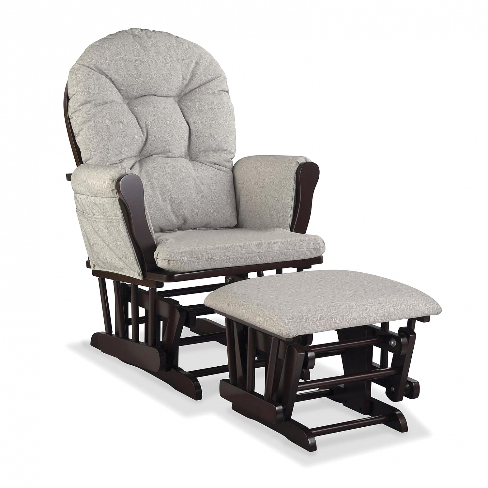 Furniture: Nursery Rocking Chair With Ottoman Glider Baby Rocker Pertaining To Rocking Chairs At Target (#7 of 15)